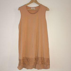 LOGO Lori Goldstein Plus-Size Tunic Dress